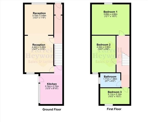 Floor Plan of Church Street, Barrow In Furness LA14