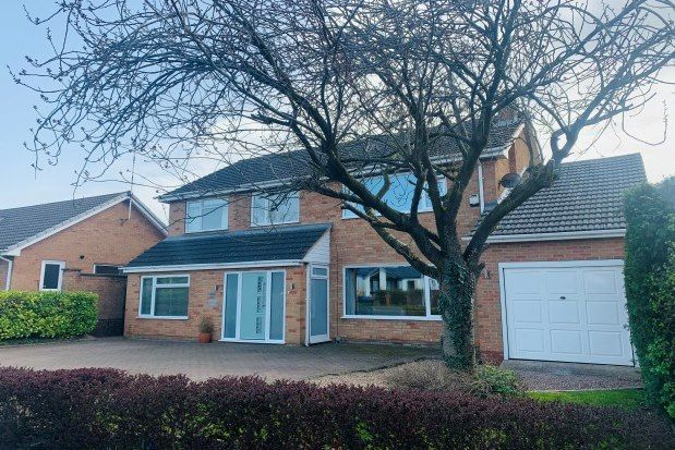 Thumbnail Detached house to rent in Dunchurch Road, Rugby