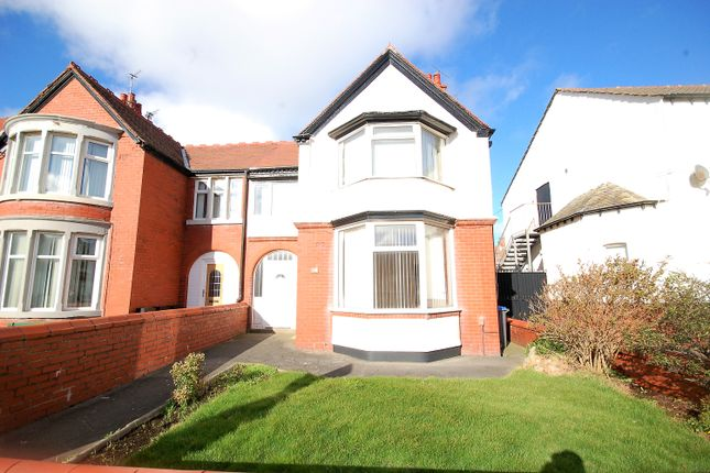 Semi-detached house for sale in Boscombe Road, Blackpool, Lancashire