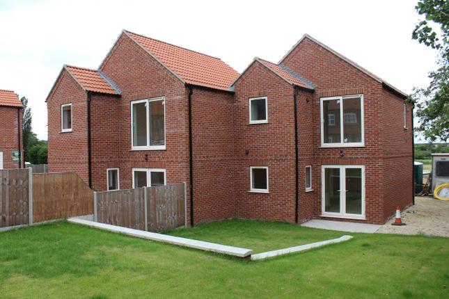 Thumbnail Semi-detached house for sale in Shopping Centre, Park Lane, Washingborough, Lincoln