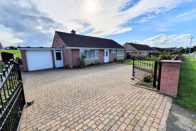 Thumbnail Detached bungalow for sale in Lowmoor Road, Wigton