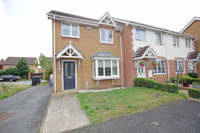 Thumbnail Semi-detached house to rent in Meadow Brook Close, Littleover, Derby