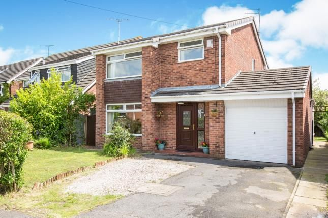 Thumbnail Detached house for sale in Fields Drive, Sandbach, Cheshire