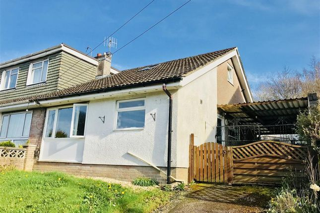Thumbnail Semi-detached bungalow to rent in Westwood Drive, Treharris