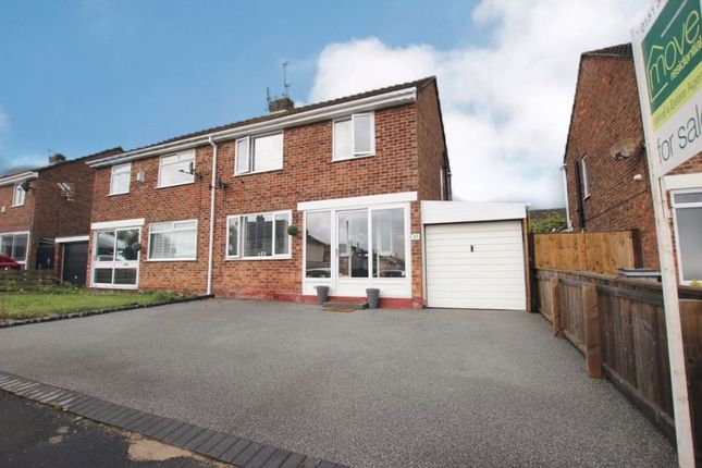 Thumbnail Semi-detached house for sale in Nicholls Drive, Pensby, Wirral