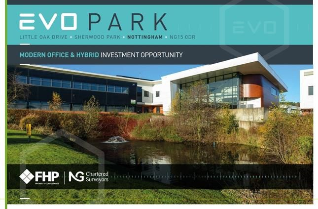 Thumbnail Office for sale in Evo Park, Little Oak Drive, Sherwood Park, Nottingham