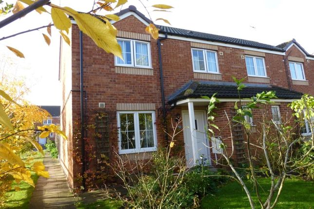 Thumbnail Terraced house for sale in Groves Close, Harvington, Evesham
