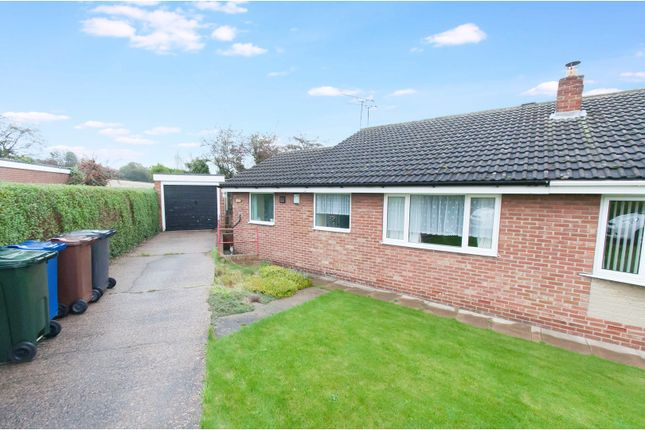 Thumbnail Semi-detached bungalow for sale in Cadwell Close, Cudworth