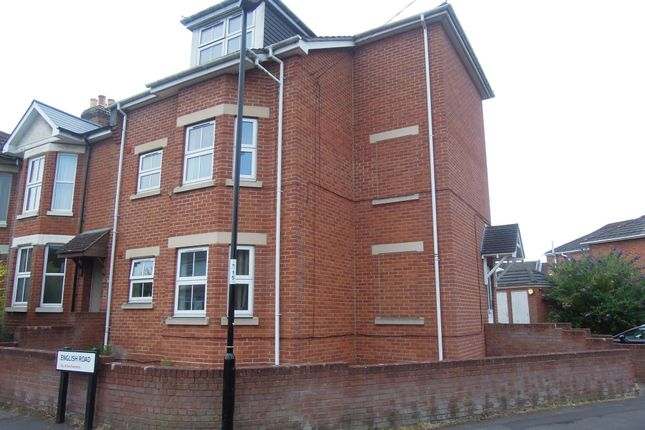 Thumbnail Flat to rent in English Road, Southampton