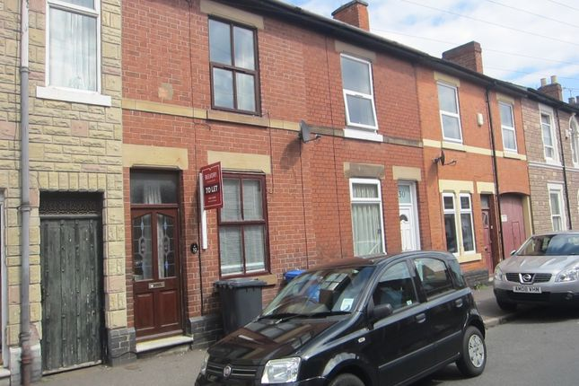 Thumbnail Terraced house to rent in Stockbrook Road, Derby