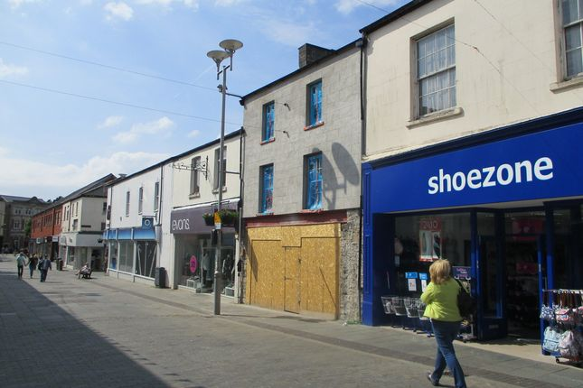 Thumbnail Retail premises to let in Lock-Up Shop & Premises, 27 Caroline Street, Bridgend
