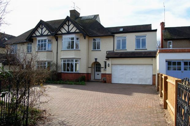 Thumbnail Semi-detached house for sale in Church Way, Weston Favell, Northampton