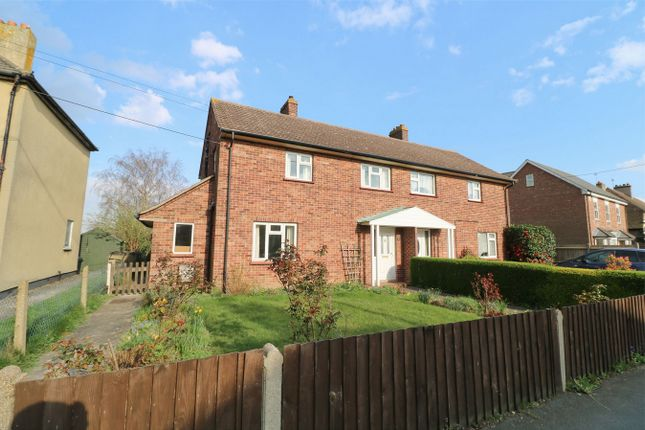 Thumbnail Semi-detached house for sale in Rectory Road, Wivenhoe, Essex