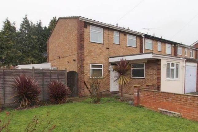Thumbnail End terrace house to rent in Hithermoor Road, Staines-Upon-Thames