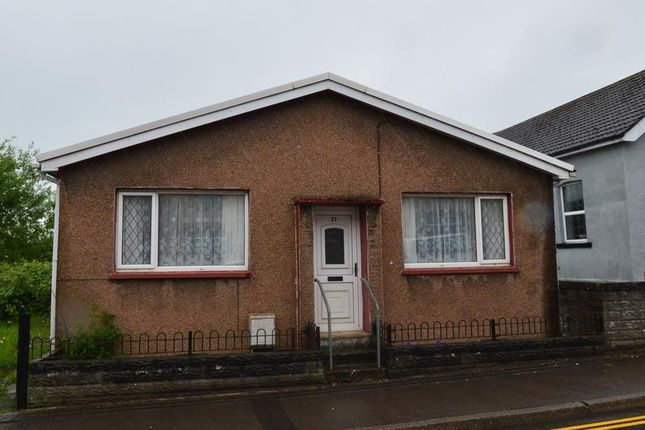 Thumbnail Detached bungalow for sale in William Street, Brynna, Pontyclun
