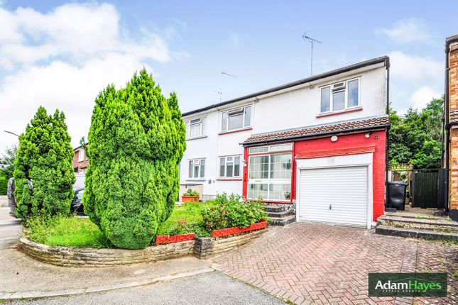Thumbnail Semi-detached house to rent in Howcroft Crescent, West Finchley