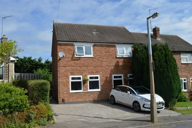 Thumbnail Semi-detached house for sale in Washbrook Close, Little Billing, Northampton