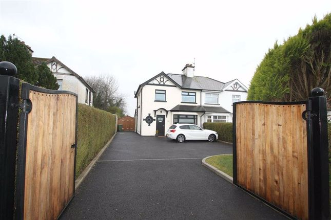 Thumbnail Semi-detached house for sale in Avenue Road, Lurgan, Armagh
