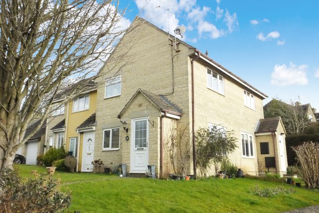 Thumbnail End terrace house for sale in Longtree Close, Tetbury
