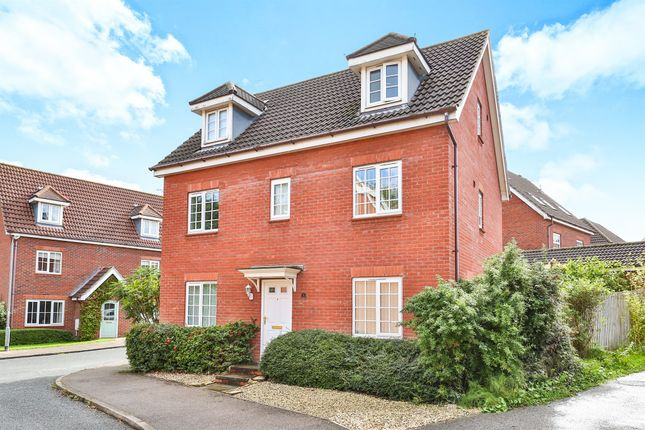 Thumbnail Detached house for sale in Joyce Way, Thorpe St. Andrew, Norwich