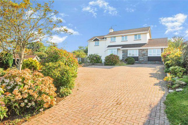 Thumbnail Detached house for sale in Davids Hill, Georgeham, Braunton