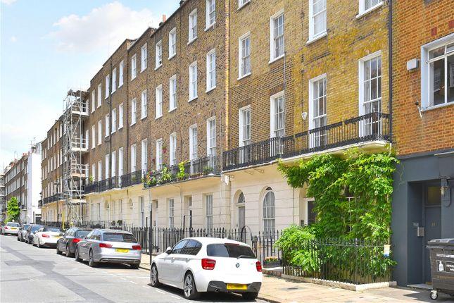 Exterior of Balcombe Street, Marylebone, London NW1