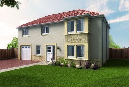 Thumbnail Detached house for sale in Camellia Off Station Road, Springfield, Fife