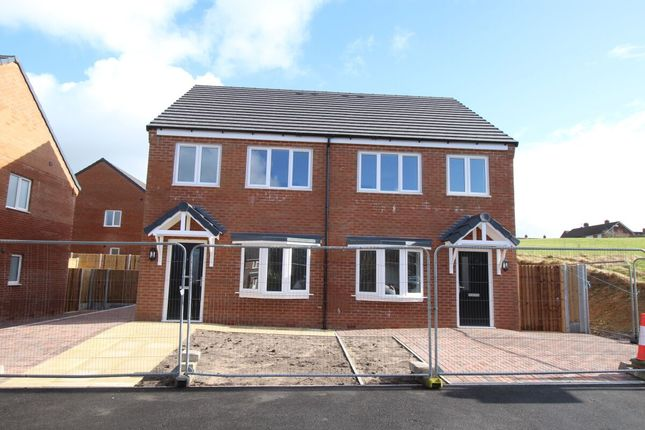 Thumbnail Semi-detached house for sale in Woodland Street, Biddulph, Stoke-On-Trent