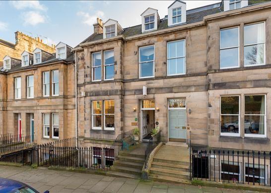 Thumbnail Terraced house for sale in Inverleith Terrace, Edinburgh, Midlothian