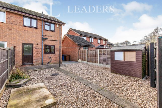 Rear Garden of Partridge Way, Mickleover, Derby DE3
