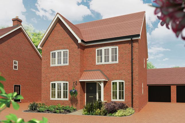 "Thumbnail Detached house for sale in ""The Juniper"" at Maddoxford Lane, Botley, Southampton"