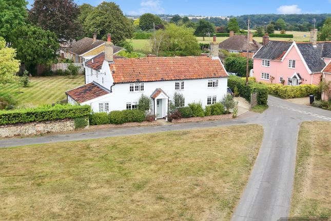 Thumbnail Detached house for sale in The Green, Tostock, Bury St. Edmunds