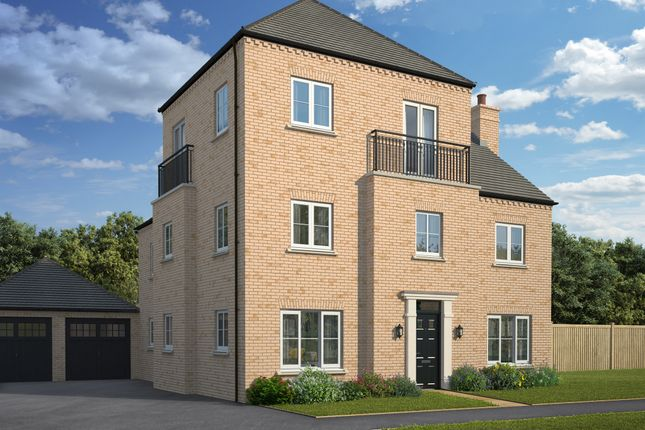 Thumbnail Detached house for sale in Hayton Way, Kingsmead, Milton Keynes