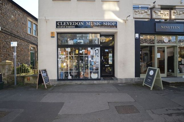 Thumbnail Retail premises for sale in Clevedon Music Shop, Alexandra Road, Clevedon