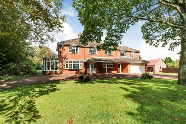 Thumbnail Detached house for sale in Station Road, Ludborough Grimsby