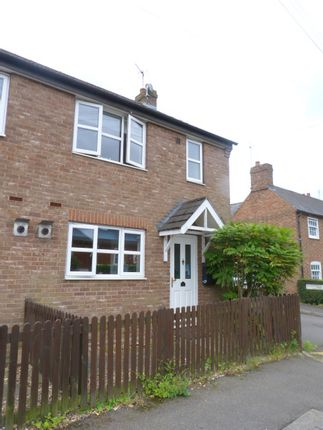 Thumbnail Semi-detached house to rent in Hardwick Road, Woburn Sands
