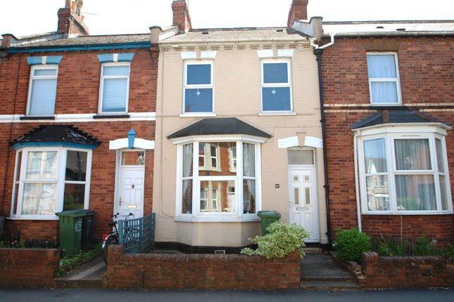 Thumbnail Terraced house to rent in Okehampton Road, St. Thomas, Exeter