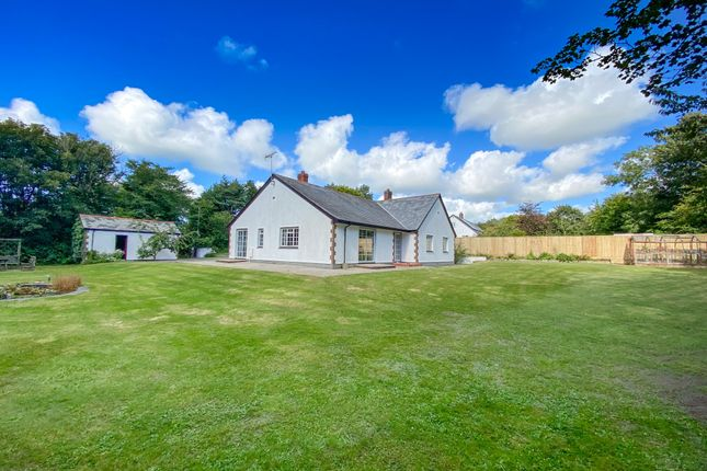 Thumbnail Detached bungalow for sale in Woolley, Bude