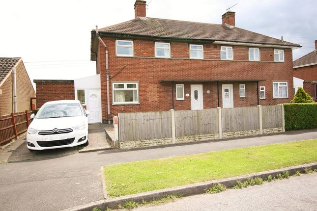 Semi-detached house for sale in Elyn Avenue, North Wingfield, Chesterfield
