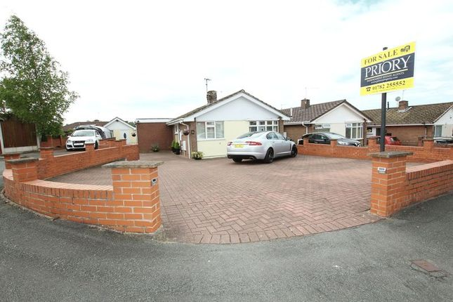 Thumbnail Detached bungalow for sale in Tame Close, Biddulph, Stoke-On-Trent