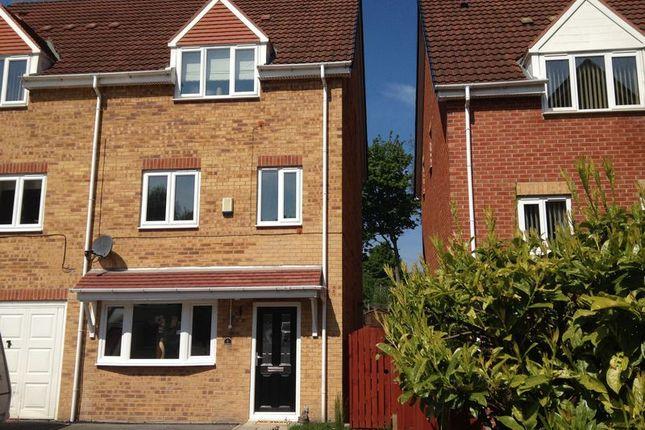 Thumbnail Semi-detached house to rent in Novara Close, Kendray, Barnsley