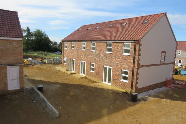 Thumbnail End terrace house for sale in Leveret Gardens, Stowfields, Downham Market