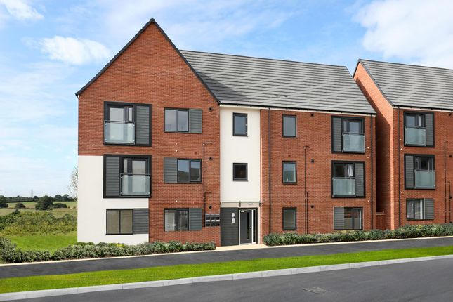 "Thumbnail Flat for sale in ""Low Cost Apartments"" at Caledonia Road, Off Kiln Farm, Milton Keynes"