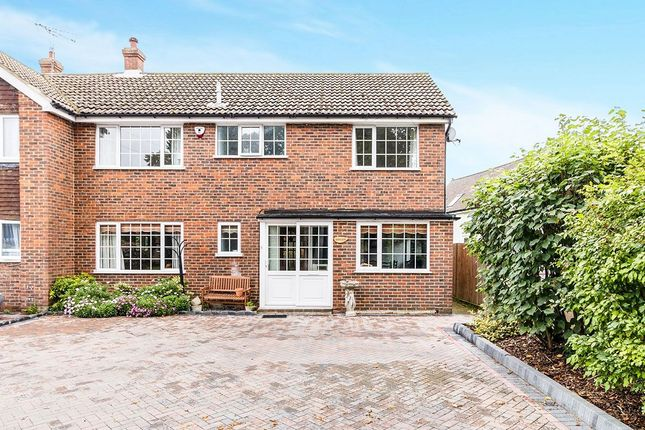 Thumbnail Semi-detached house for sale in Ash Road, Hartley, Longfield