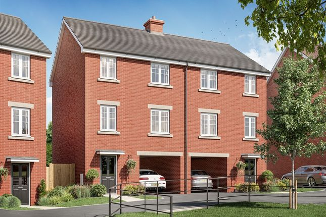 "3 bed town house for sale in ""The Sanderling "" at Haverhill Road, Little Wratting, Haverhill CB9"