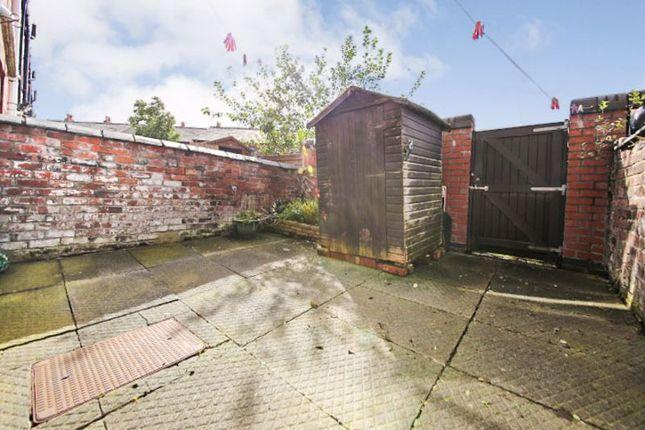 Rear Yard of Kendal Street, Springfield, Wigan WN6