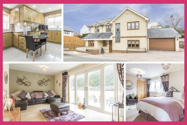 Thumbnail Detached house for sale in Yew Tree Lane, Caerleon, Newport