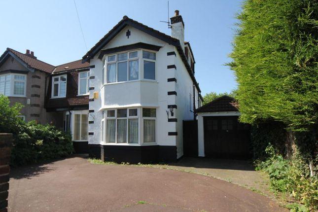Thumbnail Semi-detached house to rent in Dudlow Gardens, Calderstones, Liverpool, Merseyside