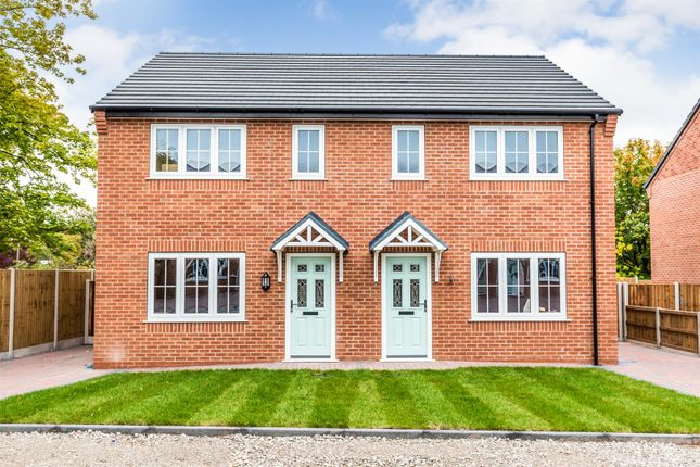 Thumbnail Semi-detached house for sale in Heathcote Street, Chesterton, Newcastle-Under-Lyme