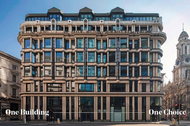 Thumbnail Office to let in Threadneedle Street, London, Greater London